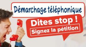 COMMUNIQUÉ DE PRESSE  ENQUETE DEMARCHAGE TELEPHONIQUE