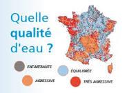 Qualité de l'eau du robinet en France