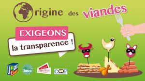 Origine des viandes: exigeons la transparence