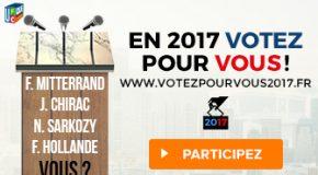 EN 2017 VOTEZ POUR VOUS