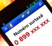 Arnaque aux numéros surtaxés. Facebook comme terrain de chasse