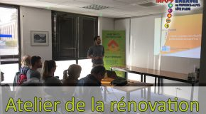 INVITATION. Atelier de la rénovation