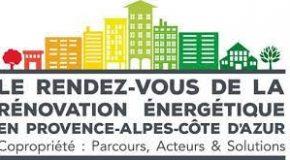 « LE RENDEZ VOUS DE LA RÉNOVATION ÉNERGÉTIQUE EN PROVENCE-ALPES-CÔTE D'AZUR : Enjeux, acteurs et solutions ».   30 novembre 2017. Aix-en-Provence