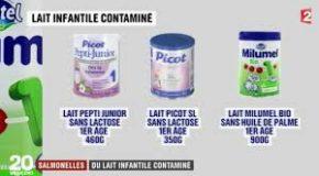 Laits infantiles contaminés à la salmonelle. Les réponses à vos questions