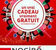 «Vrai cadeau vraiment gratuit» de Nocibé. On nous prend vraiment pour de vraies buses