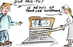 Fracture numérique: encore trop de Français déconnectés d'Internet